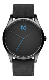 Reloj Mad Gun Aston - Reloj De Hombre - Malla Cuero Negra