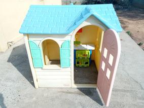 Casa Para Juegos Para Niñas Little Tikes + Accesorios Casita