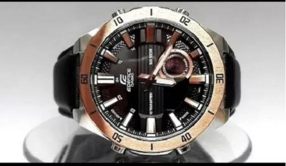 Casio Reloj Edifice Con Cronógrafo 110l Único En Ml