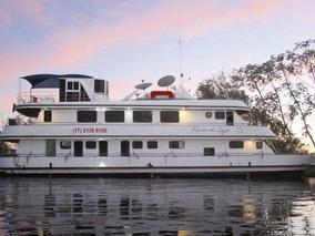 Barco Hotel Para Turismo De Pesca Pantanal