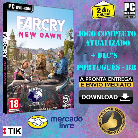 Far Cry New Dawn Deluxe Edition - Completo - Todas Dlcs - Pt