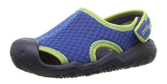 Crocs Swiftwater Sandal Junior Blue-jean Envios Todo Pais