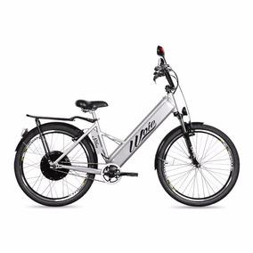 Bicicleta Elétrica Motorizada Woie Silver 48v 350w - Prata