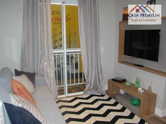 Apartamento Residencial À Venda, Portão Vermelho, Vargem Grande Paulista. - Ap0019