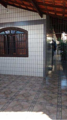 Casa Com 2 Dorms, Mirim, Praia Grande - R$ 240 Mil, Cod: 1127 - V1127