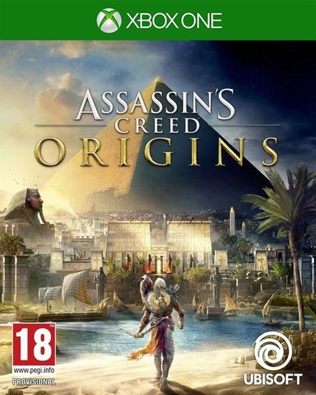 Assassins Creed Origins Xbox - 25 Dígitos (envio Rapido)