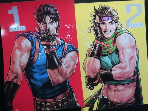 Posters A3 29x42cm Anime Jojo`s Bizarre Adventure X6
