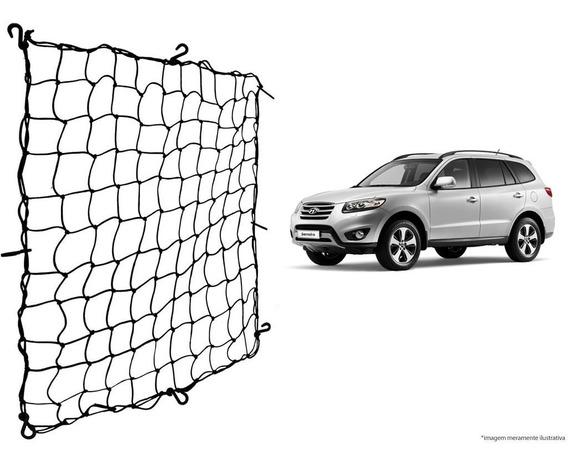 Rede Elástica Bagageiro Porta Malas Hyundai Santa Fé
