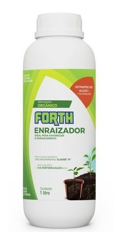 Imagem 1 de 1 de Fertilizante Enraizador Forth 1 Litro