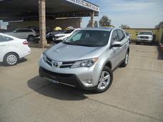 Toyota Rav-4 2014 Xle 4wd Qc Tela Plata