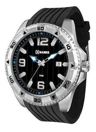 Relógio Xgames Xmsp1014 Borracha Preto