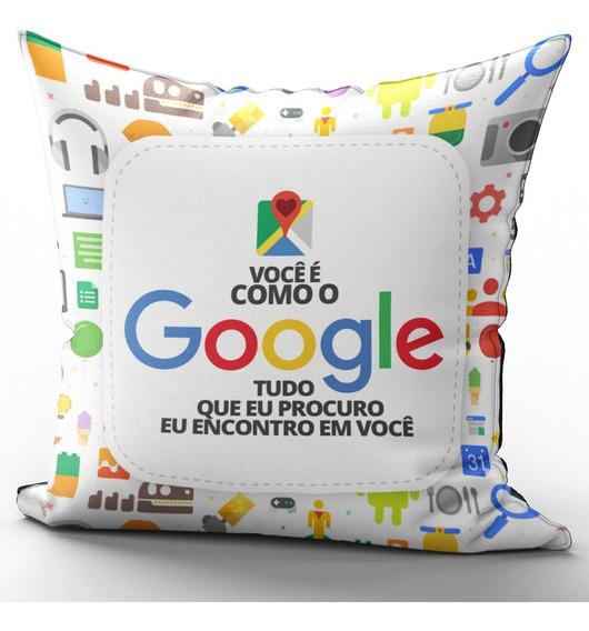Almofada 40x40cm Dia Dos Namorados Você É Como O Google