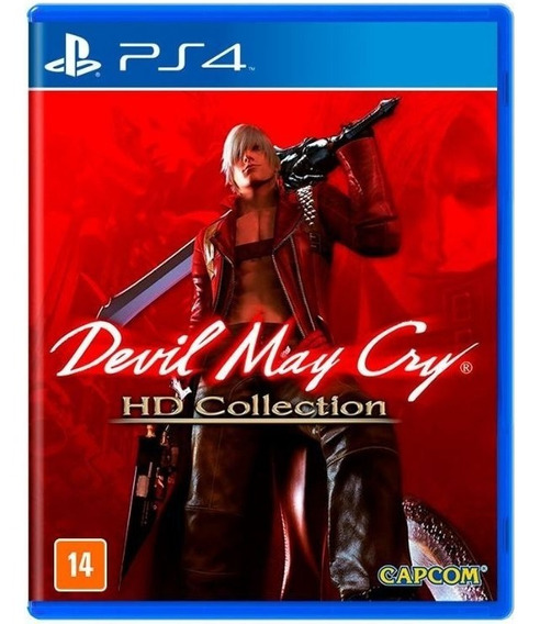 Devil May Cry Dmc Hd Collection Jogo Ps4 Mídia Física Novo