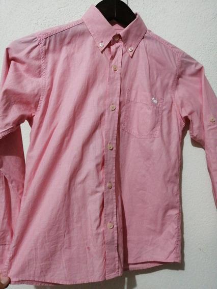 Camisa Ferrioni Rosa - Talla 10
