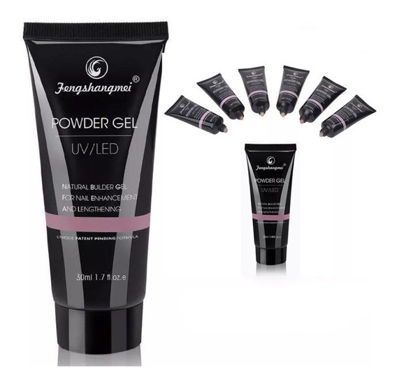 Polygel Powder Gel 50ml Uñas Esculpidas Acrigel Uv/led Ofert