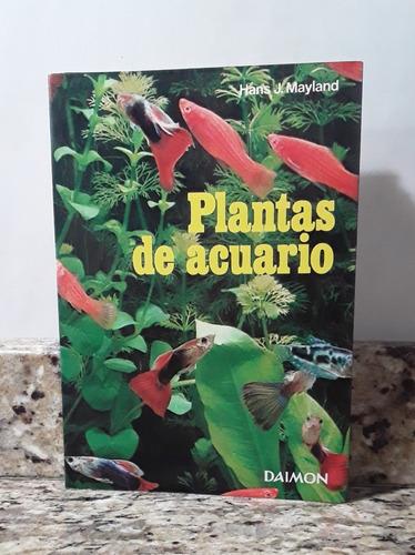 Imagen 1 de 1 de Libro Plantas De Acuario - Hans Mayland