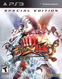 Street Fighter X Tekken: Edición Especial - Playstation 3