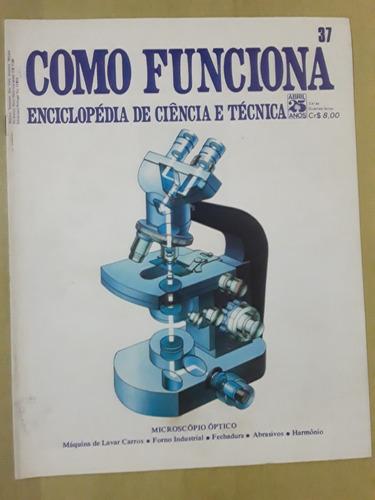 Pl163 Revista Fasc Como Funciona Nº37 Microscópio Optico