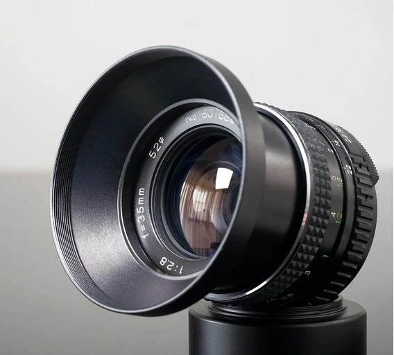 Lente Revuenon 35mm F 2.8 - Rosca M42 -sony-canon- Micro4\3