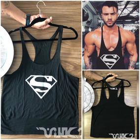 Camisa Olimpica Gym Para Hombre Ejercicio Color Negro