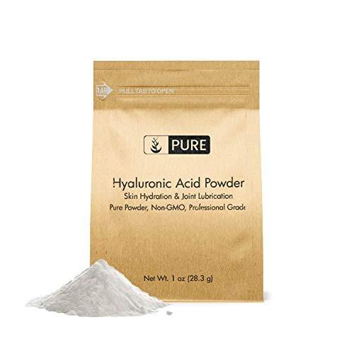 Polvo De Ácido Hialurónico (1 Oz) Por Ingredientes Puros