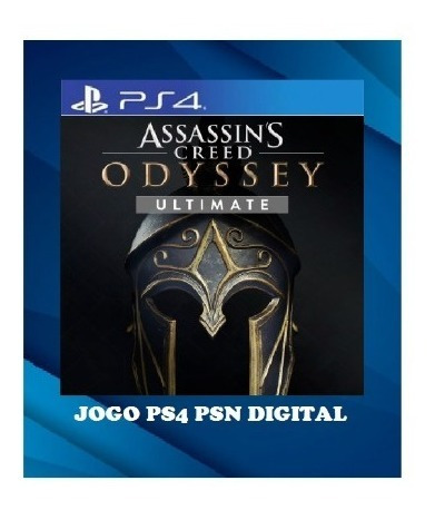 Assassins Creed Odyssey Ultimate Edition Ps4 1 Psn Envio Já