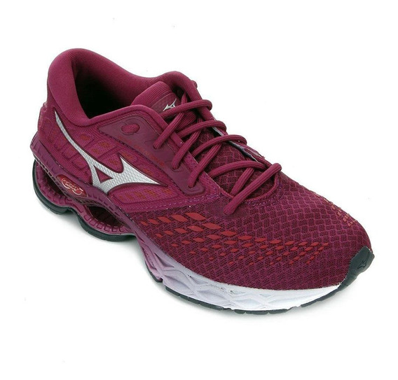 Tênis Mizuno Wave Creation 21 Feminino - Rosa