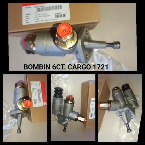 Bombín Cebador Tranferencia Cummins 6ct Ford Cargo 1721