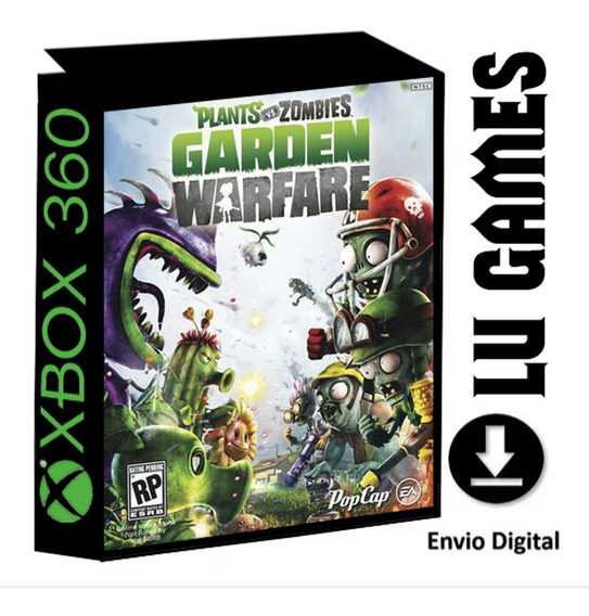 Plants Vs Zombies Garden Warfare Midia Digital Xbox 360