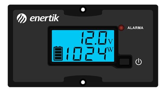 Panel Control Remoto Opcional P/inversor/conversor Enertik
