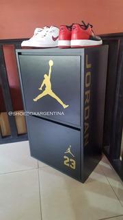 Zapatero Shoe Box Vertical Para 8/12 Pares Melamina
