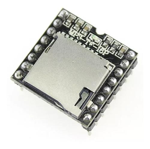Reproductor Audio Musica Dfplayer Microsd Mp3 Wav Wma