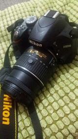 Nikon D3200 + Lente + Tripé