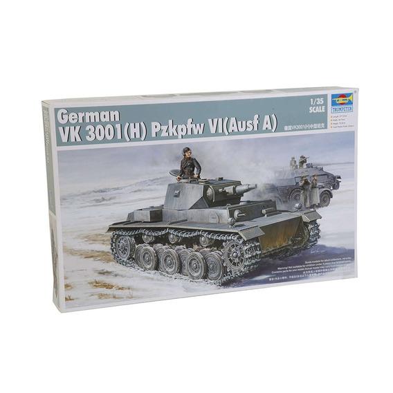 German Vk 3001(h) Pzkpfw Vi Ausf. A 1:35 Trumpeter 01515