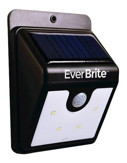 Sensor De Presença Com Placa Solar Para Ambientes Externos