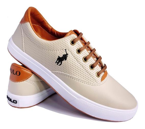 Sapatenis Polo Wey Sapato Masculino Casual Tenis Original