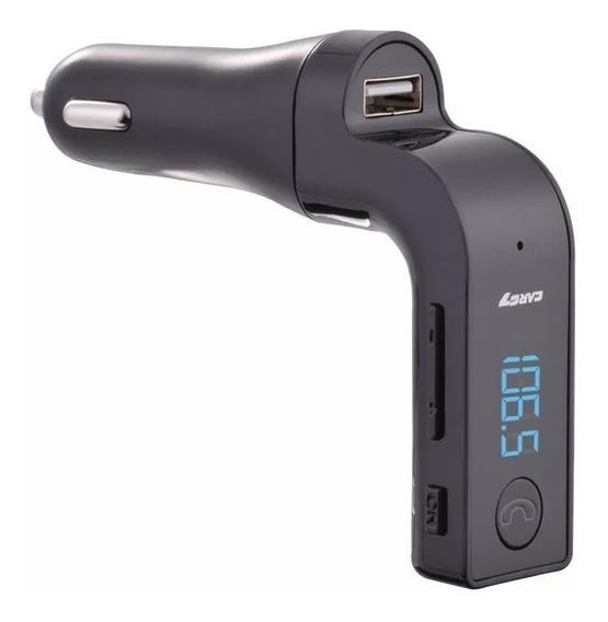 Transmissor Fm Veicular Usb Sd Bluetooth Aux Mp3
