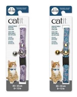 Collar Para Gatos- Ajustable Nylon- 20-33 Cm