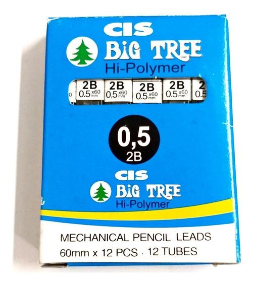 Grafite Big Tree Cis 0.5mm 2b Caixa Com 11 Tubos