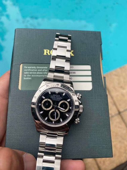 A Bobswatchesbr Oferece : Rolex Daytona De Aço