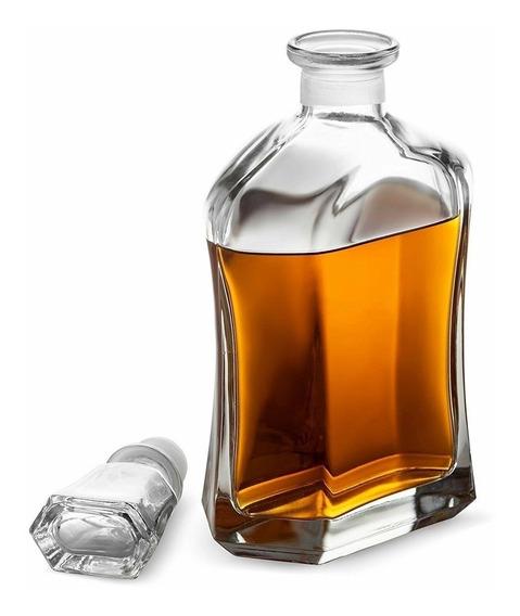 Garrafa Whisky Bormioli Rocco Capitol Vidro Italiano 700ml