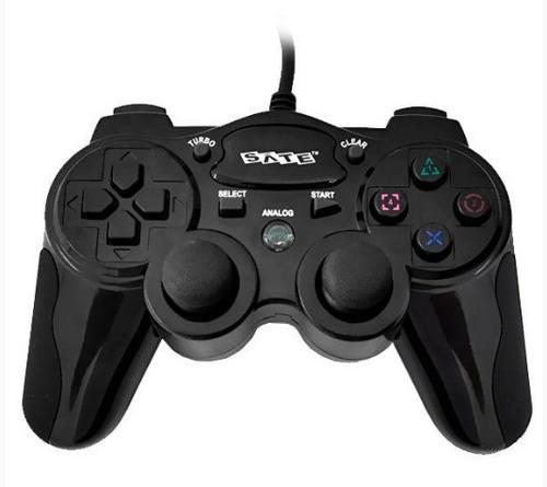 Palanca Para Playstation2 Y 3 Mando O Control Negro Pc