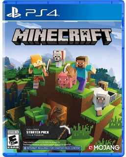 Minecraft Starter Pack Ps4 Nuevo Fisico Sellado