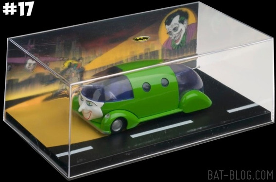 Batman Automobilia Batmovel 17 - Eaglemoss - Bonellihq G19