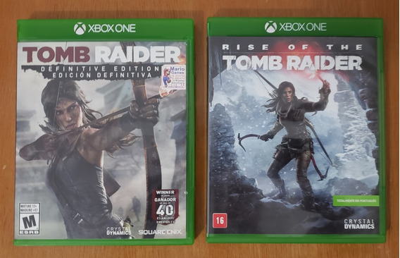 Tomb Raider E Rise Of The Tomb Raider - Xbox One