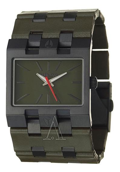 Relógio Nixon Big Rig Black Green - Original Promoção