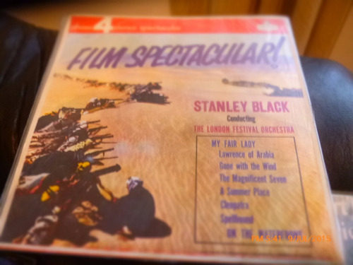Vinilo Lp De Stanley Black --film Spectaculares (u1115