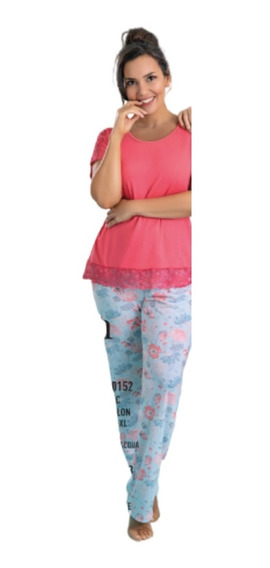 Pijama Dream Way Pantalon Largo Promesse Wo0152