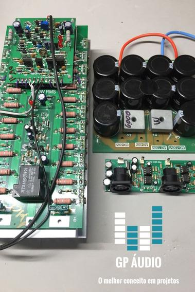 Kit Placas De Amplificador 2500w