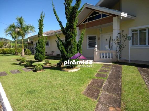 Casa Com 5 Dormitórios À Venda, 290 M² Por R$ 810.000,00 - Rio Claro - Paraibuna/sp - Ca4432